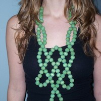 Summer Green Necklace