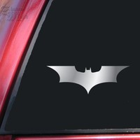 Batman Begins / The Dark Knight Vinyl Decal Sticker - Shiny Chrome