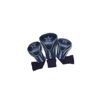 Dallas Cowboys 3 Pack Golf Contour Sock Headcovers