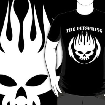 THE OFFSPRING Logo Rock Band Tee Tees T-shirt Shirt