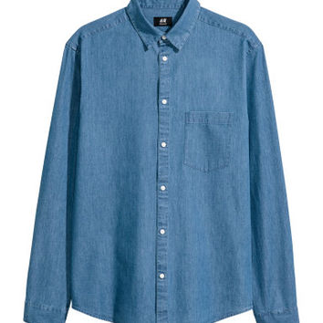 H&M Denim Shirt Regular fit $14.99