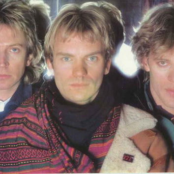 The Police 1983 Band Portrait Poster 23x35