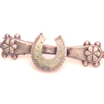 Sweetheart Brooch or Pin, World War I, Sterling Silver Vintage Jewelry, Gift for Her SPRING SALE