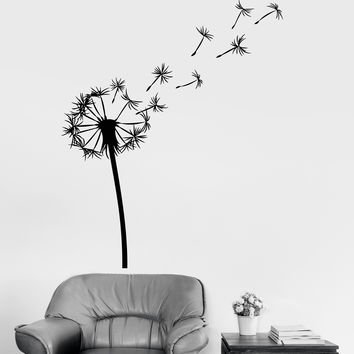 Vinyl Wall Decal Dandelion Flower Room Decoration Bedroom Art Stickers (ig3279)