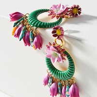Abbot Wreath Drop Earrings