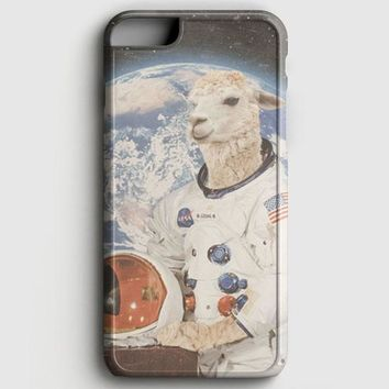 Astronaut Llama Space iPhone 6 Plus/6S Plus Case | casescraft