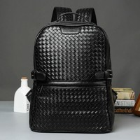 Hot New Men's Leather Backpack