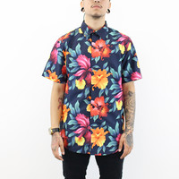 Lance Short Sleeve Tropical Floral button T-Shirt