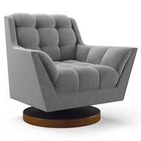 Fitzgerald Rocking Swivel Chair by Joybird
