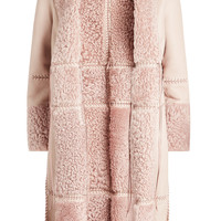 Leather and Shearling Jacket - Alexander McQueen | WOMEN | KR STYLEBOP.COM