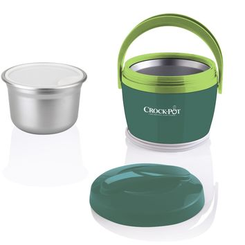 Crock-Pot SCCPLC200-EM-SHP Crock-Pot SCCPLC200-EM-SHP 20-Ounce Lunch Crock Food Warmer, Emerald/Light Green, 1, Emerald/Light Green