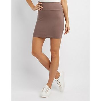 Bodycon Mini Skirt | Charlotte Russe