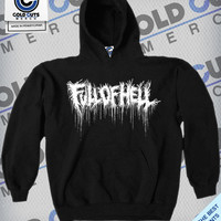 """Cold Cuts Merch - Full of Hell """"Drip"""" Hoodie"""