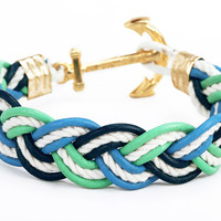 Anchor Bracelet - Mariner Sea Foam - by Kiel James Patrick