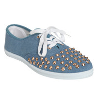 Chambry Studded Tennis Shoe | Shop Shoes at Wet Seal