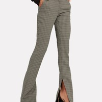 Javier Plaid Trousers