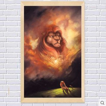 5D Diamond Painting Lion King Mufasa Kit