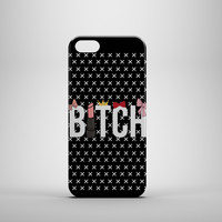 B*TCHY B*TCH Design Custom Case for iPhone 6 6 Plus iPhone 5 5s 5c iPhone 4 4s Samsung Galaxy s3 s4 & s5 and Note 2 3