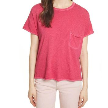 Rag & Bone/JEAN Rose Vintage Tee with Pocket Shirt