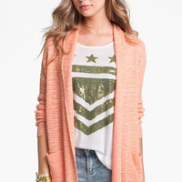 Cotton Emporium Marled Cardigan (Juniors) | Nordstrom