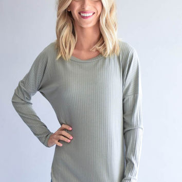 Streamside Ribbed Top