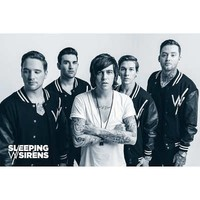 (24x36) Sleeping With Sirens Music Poster