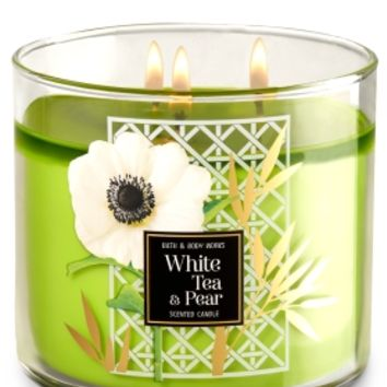 3-Wick Candle White Tea & Pear