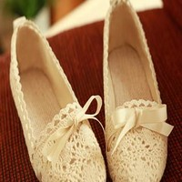 New Fashion Hollow Out With Lace Sandals from styleonline