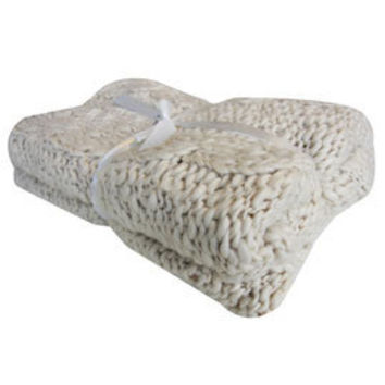 buy padstow chunky knit blanket online from dunelm. Black Bedroom Furniture Sets. Home Design Ideas