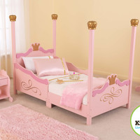 KidKraft Princess Toddler Bed - 76121