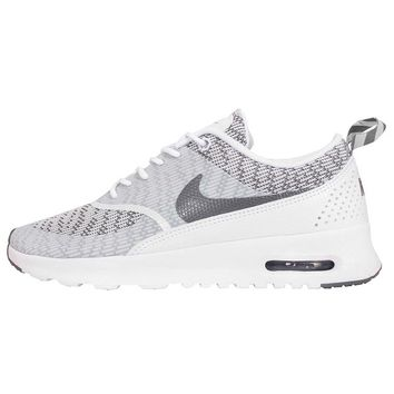Nike Women's Wmns Air Max Thea KJCRD, WHITE/COOL GREY, 7 US