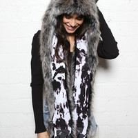 New Moon Grey Wolf Collector SpiritHood