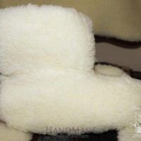 Wool Ugg Slippers 'clouds'