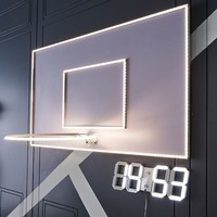 LED Basketball Hoop Wall Light