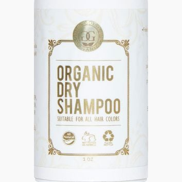 Organic Dry Shampoo for Dark Hair - Grapefruit & Orange