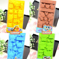 Disney Silicone Ice Cube Mold Cookie Muffin Bakeware Chocolate Candy Jelly Pan