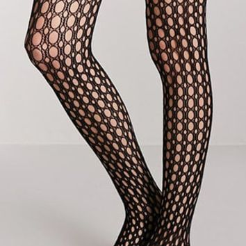 Geo Cutout Tights