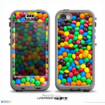 The Colorful Candy Skin for the iPhone 5c nüüd LifeProof Case