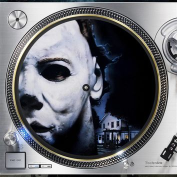 Halloween Micheal Myers 12 inch  Slipmat Turntable Vinyl Record collection DJ audiophile 16 oz. x1
