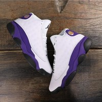 "Air Jordan 13 ""Lakers"" AJ 13 Retro Sneakers - Best Deal Online"
