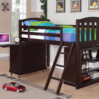 St. Charles Twin Mid High Loft Bed