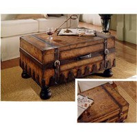 Heritage Trunk Table Butler Specialty Company Cocktail/Coffee Tables Accent Tables Furnish