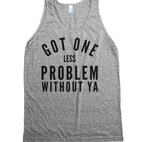 Athletic Grey Tank | Iggy Azalea Lyric Shirts