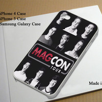 Magcon Boys Tour inspired Best Seller Phone Case on Etsy for iPhone 4, iPhone 4s, iPhone 5 , Samsung Galaxy s3 and Samsung Galaxy s4
