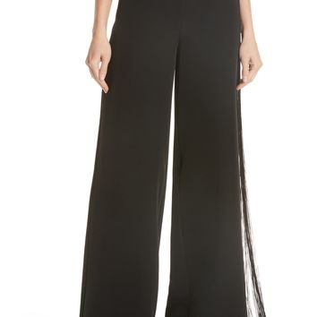 MM6 Maison Margiela Fringe Detail Pants | Nordstrom