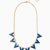 On Point Enamel Necklace   Fashion Jewelry   charming charlie