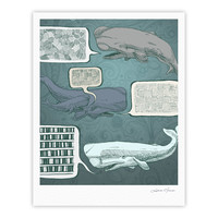 "Sophy Tuttle ""Whale Talk"" Fine Art Gallery Print"