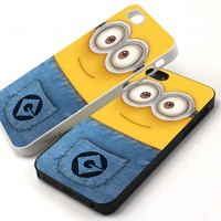 Despicable Me Minion for iPhone 5 Case, iPhone 4 4s Case, Samsung Galaxy S3 I9300 Case, Samsung Galaxy S4 I9500 Case, BlackBerry Z10 Case (Leave us a message, which you choose)