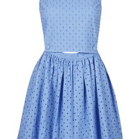 Broderie Pinafore Sundress - Topshop