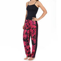 Carole Hochman Midnight 139771 Enchanted Petals Pajama Set